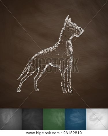 great dane icon