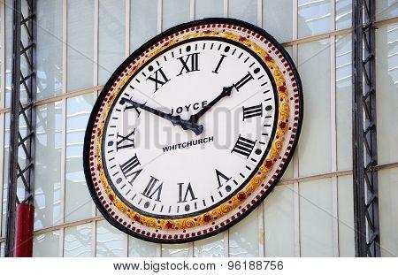 Lime Street Station Clock, Liverpool.