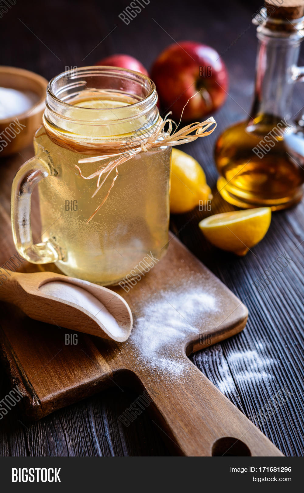 Apple Cider Vinegar, Image & Photo (Free Trial)   Bigstock