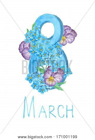 8 March Card