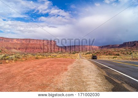 The Upper Colorado River Scenic Byway (State Route 128)UtahUSA
