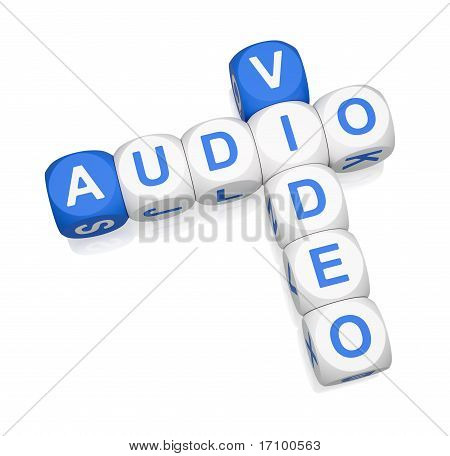 Audio Video 3D Crossword