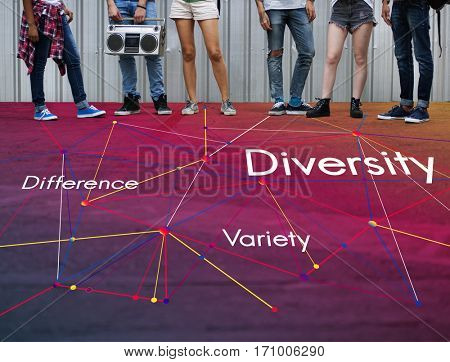 Difference Variety Diversity Teamwork Success