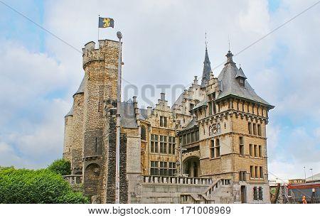 The Castle Of Antwerp