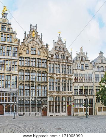 The Guildhouses Of Antwerp