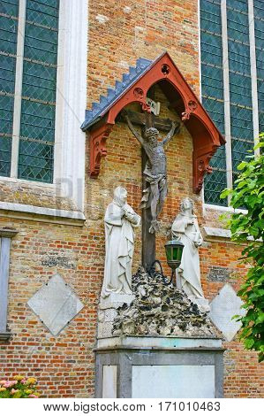 The Old Crucifix