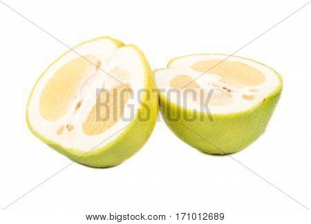 Halves Of Fruit Oroblanco