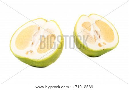 Halves Of Fruit Oroblanco