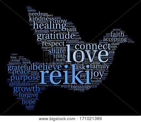 Reiki Word Cloud