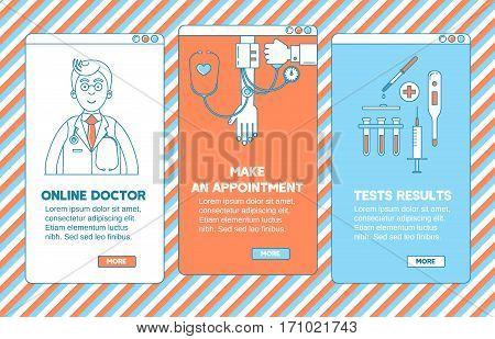 Medical App Design.