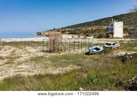 beach of Skala Maries, Thassos island, East Macedonia and Thrace, Greece