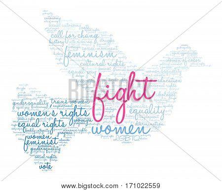 Fight Word Cloud