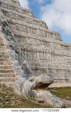 Chichen Itza ruins is the most famous and best restored of the Yucatan Maya sites. Mexico