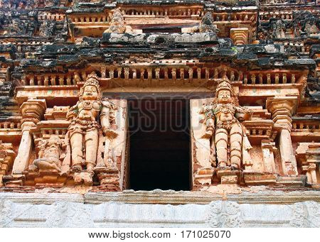 AchyutaRaya Temple at Hampi Karnataka South West India
