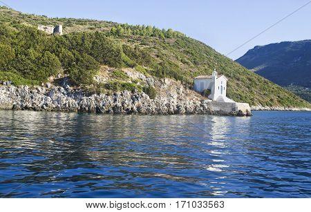 saint Andrew chapel Ithaca Ionian islands Greece
