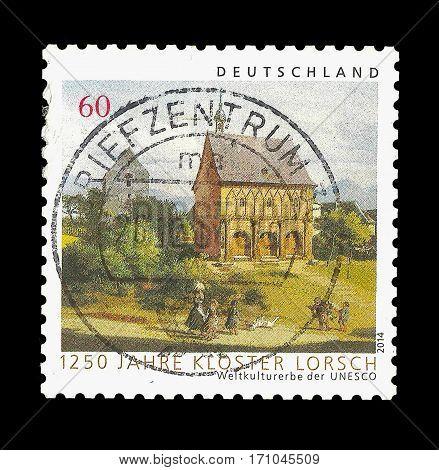 Postage Stamp : Germany 2014 , UNESCO-Welterbe - 1250 Jahre Kloster Lorsch