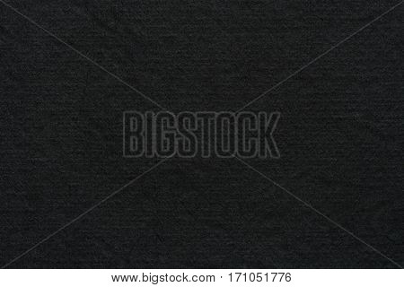 Close up recycle cardboard or Black board paper texture background. Black paper sheet texture pattern background.