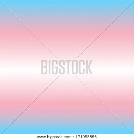 Trans gender flag vector. Pink blue background