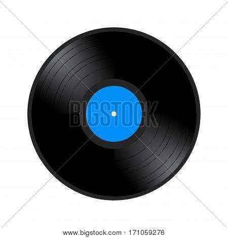 Isolated Retro Vinyl