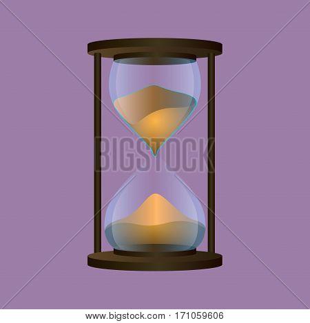 Isolated Sand Clock