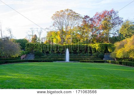 Conservatory Garden Is The Only Formal Garden In Central Park