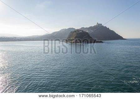 La Concha Bay In San Sebastian (spain)