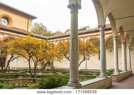 Santa Maria Delle Grazie Courtyard