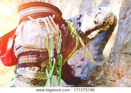 Equipment For Activity Climbing.