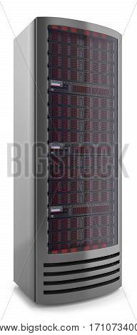 Server Cabinet Panel 3D