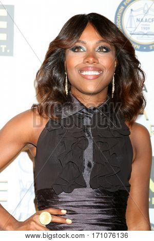 LOS ANGELES - FEB 10:  DeWanda Wise at the Non-Televisied 48th NAACP Image Awards at Pasadena Conference Center on February 10, 2017 in Pasadena, CA