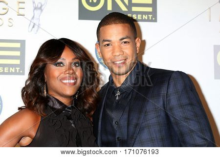 LOS ANGELES - FEB 10:  DeWanda Wise, Alano Miller at the Non-Televisied 48th NAACP Image Awards at Pasadena Conference Center on February 10, 2017 in Pasadena, CA