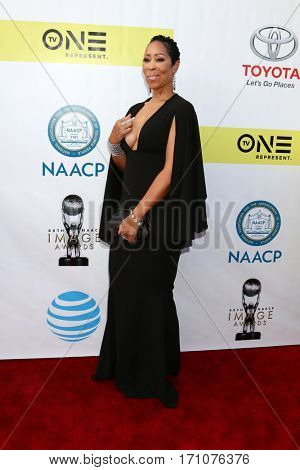 LOS ANGELES - FEB 11:  Nicole Grays Owens at the 48th NAACP Image Awards Arrivals at Pasadena Conference Center on February 11, 2017 in Pasadena, CA