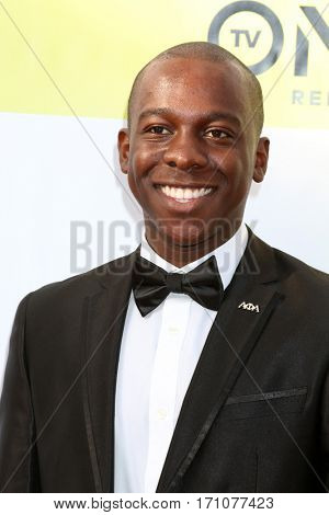 LOS ANGELES - FEB 11:  Lamar Richardson at the 48th NAACP Image Awards Arrivals at Pasadena Conference Center on February 11, 2017 in Pasadena, CA