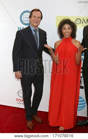 LOS ANGELES - FEB 11:  Bill Paxton, Lex Scott Davis at the 48th NAACP Image Awards Arrivals at Pasadena Conference Center on February 11, 2017 in Pasadena, CA