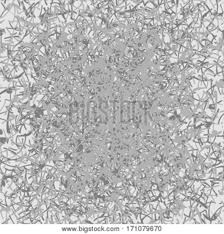 Vector seamless background with abstract gray pattern.