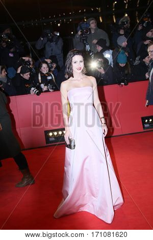 Lena Meyer-Landrut attends the 'T2 Trainspotting' premiere during the 67th Berlinale Film Festival Berlin at Palace on February 10, 2017 in Berlin, Germany.
