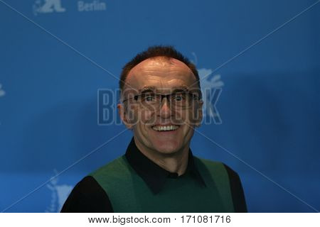 British director Danny Boyle  attends the 'T2 Trainspotting' photo call during the 67th Berlinale International Film Festival Berlin at Grand Hyatt Hotel on February 10, 2017 in Berlin, Germany