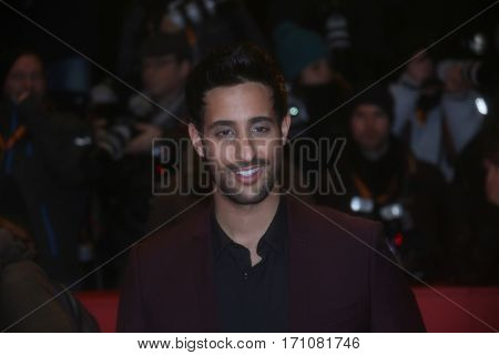Sami Slimani attends the 'Final Portrait' premiere during the 67th Berlinale  Festival Berlin at Berlinale Palace on February 11, 2017 in Berlin, Germany.