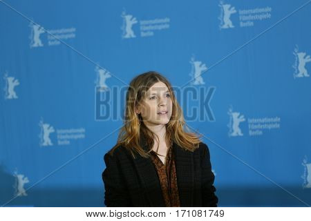 Clemence Poesy attends the 'Final Portrait' photo call during the 67th Berlinale  Film Festival Berlin at Grand Hyatt Hotel on February 11, 2017 in Berlin, Germany.