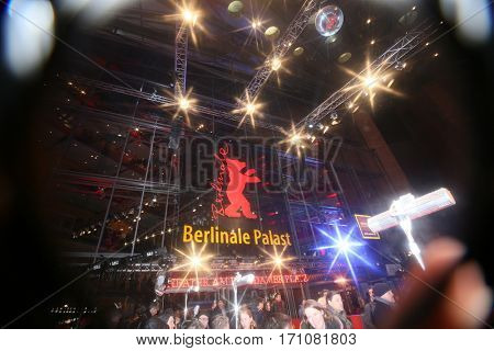 Atmosphere attends the 'Final Portrait' premiere during the 67th Berlinale  Festival Berlin at Berlinale Palace on February 11, 2017 in Berlin, Germany.