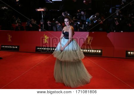 Huma Qureshi attends the 'Viceroy's House' premiere during the 67th Berlinale International Film Festival Berlin at Berlinale Palace on February 12, 2017 in Berlin, Germany