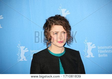 Hannah Steele attend the 'The Young Karl Marx' (Le jeune Karl Marx) photo call during the 67th Berlinale Festival Berlin at Grand Hyatt Hotel on February 12, 2017 in Berlin, Germany.