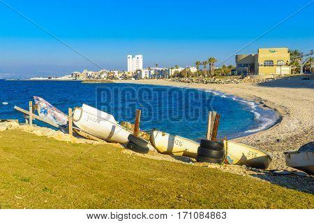 Bat-galim Coast And Neighborhood, In Haifa