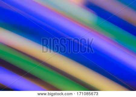 vertical streaks of light in vibrant colors