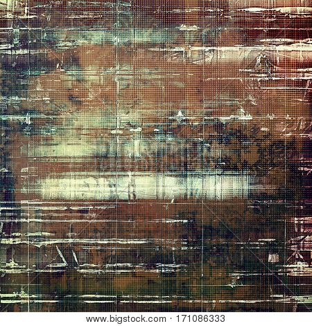 Old grunge template. With different color patterns: yellow (beige); brown; gray; purple (violet); white; cyan