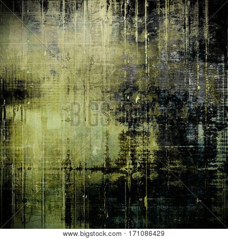 Abstract faded retro background or shabby texture with vintage style design and different color patterns: yellow (beige); brown; gray; purple (violet); black