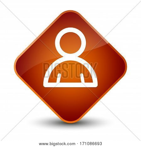 Member Icon Special Brown Diamond Button