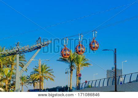 Cable Car, In Haifa