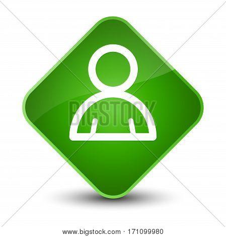 Member Icon Special Green Diamond Button