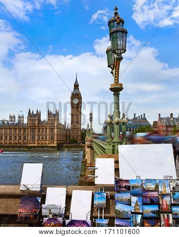 Big Ben London postcards Clock tower in UK images of cards are my own copyright